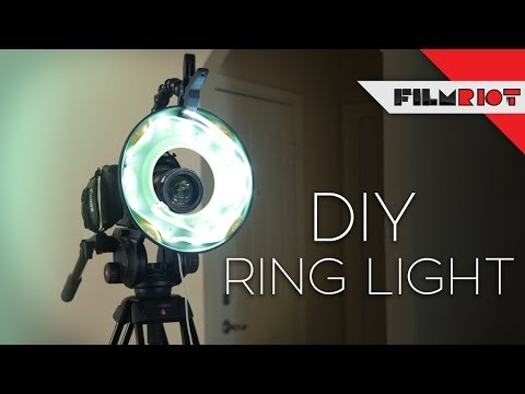 Diy Ring Light Youtube