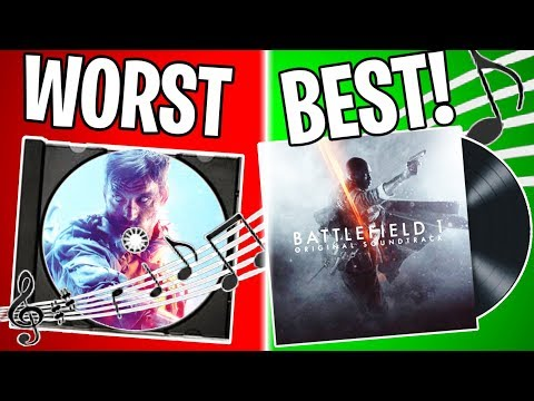 RANKING EVERY THEME SONG IN BF HISTORY FROM WORST TO BEST! | Battlefield