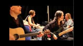 The Smashing Pumpkins - My Love is Winter - Backstage Rehearsal -  October 8th, 2011