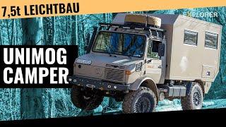 Unimog U1350L  ■  Expeditionsfahrzeug  ■ Atlas4x4  ■ Test  ■