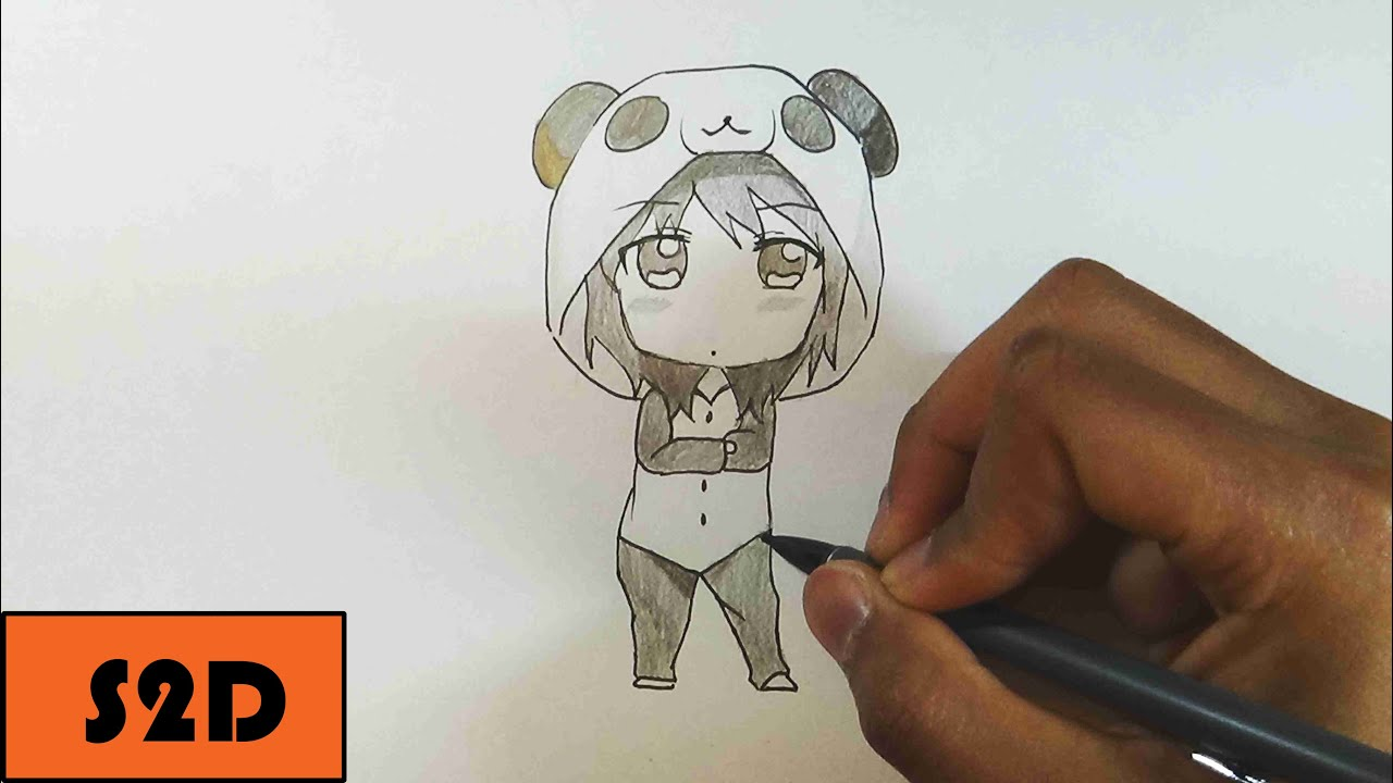 How To Draw Chibi Girl In Pj S