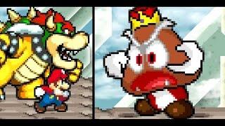 Mario And Bowser Vs Goomboss