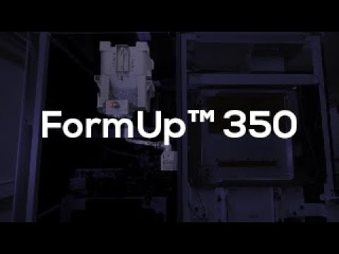 FormUp 350 : An amazing disruptive Industrial Metal 3D printing Solution (LPBF) AddUp