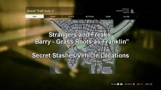 Grand Theft Auto 5 - Grass Roots - Franklin Secret Stash Locations
