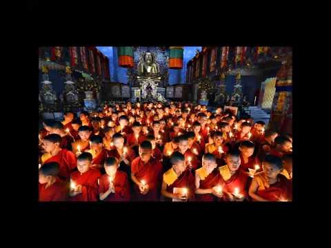Binaural Theta Bass: Temple Om - Theta/Gamma = Clear Mind, Focus & Harmony