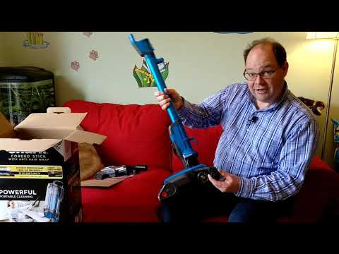 Shark HZ400 Corded Stick with Anti Hair Wrap Vacuum Cleaner Unboxing