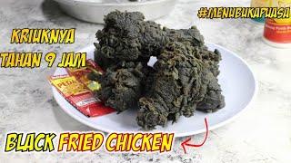 Resep Jajanan Kekinian Terbaru nie  yang jarang dijual Black Fried Chicken