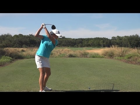 SANDRA GAL - DOWN THE LINE DRIVER GOLF SWING 2013 - REGULAR & SLOW MOTION - 1080p HD from YouTube · Duration:  1 minutes 47 seconds