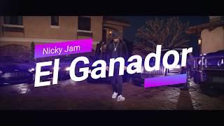 El Ganador - Nicky Jam (Instrumental Oficial) (Álbum Fénix)