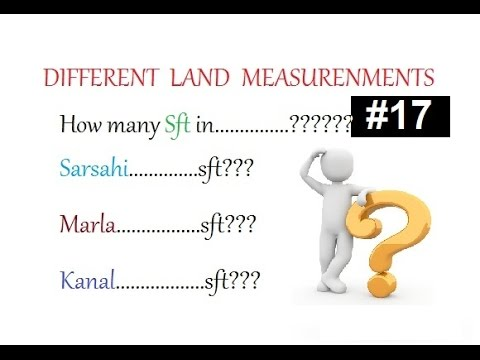 Different Land Measurements We Use In Our Field Sides In Urdu Hindi