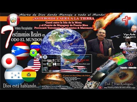 Profeta Efrain Rodriguez y su mensaje Respaldado por Dios y el testimonios de miles de personas