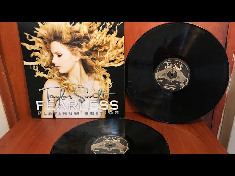 Unboxing: Taylor Swift - Fearless (Platinum Edition) (Vinyl)