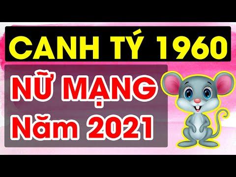 Tử Vi Tuổi CANH TÝ Nữ Mạng 1960 Năm 2021 May Mắn, GIÀU CÓ, Vận Hạn Ra Sao ?
