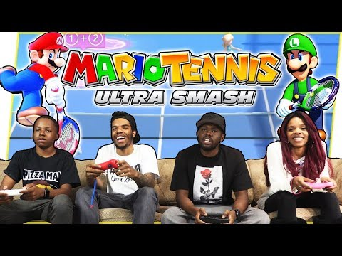 THE BIGGEST CHOKE IN MARIO TENNIS HISTORY! - Mario Tennis Ultra Smash Wii U Gameplay
