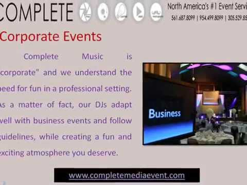 Wedding DJ, Photography, Videography Fort Lauderdale | Complete Media event