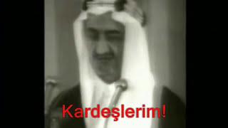 Kudüs İçin Cihad Çağrısı ve Şehadeti - Suudi Arabistan Kralı Faysal - الملك فيصل