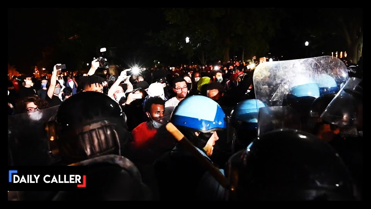 Footage Reveals Rioters In DC Clashing With Park Police
