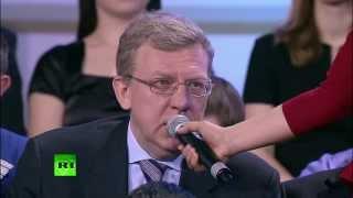 Путин: Кудрин отказался вернуться в правительство