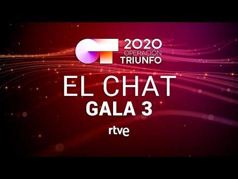 EL CHAT EN DIRECTO: GALA 3 | OT 2020