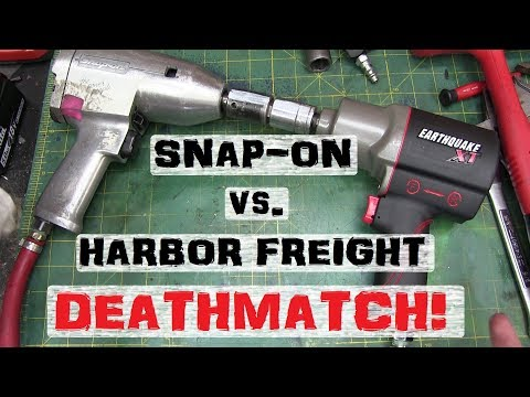 BOLTR: Snap-On vs. Harbor Freight Impact Wrench