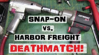 BOLTR Snap-On vs. Harbor Freight Impact Wrench