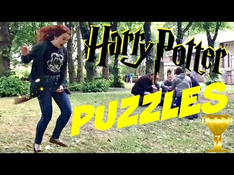 Muggles solve Puzzles | London DASH (Harry Potter style)