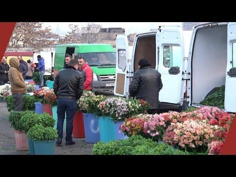 Երևանյան ծաղկի շուկան՝ առավոտ կանուխ