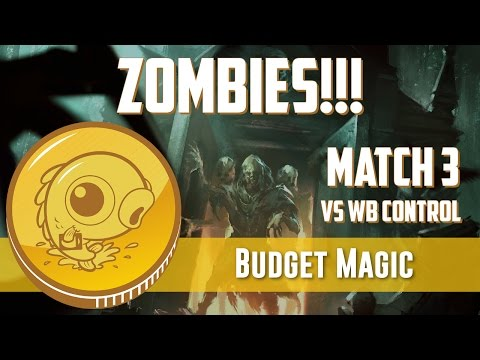 Budget Magic: Zombies!!! vs WB Control (Match 3)