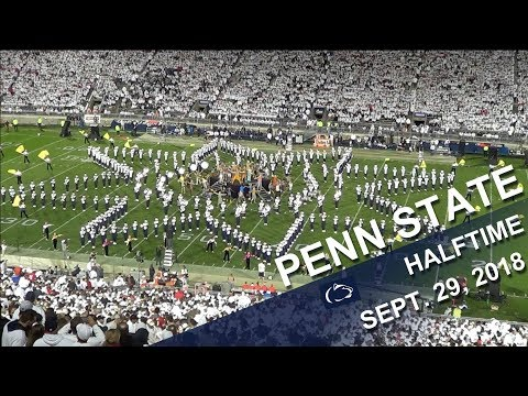 Penn State Blue Band Halftime show   Sept  29, 2018