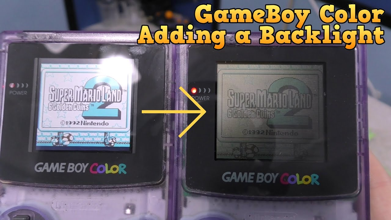 Finally - A Gameboy Color Backlight Mod!