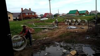 Прокладка сетей на стройке и уборка территории(, 2017-07-28T06:24:17.000Z)
