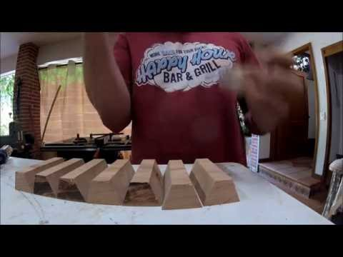 Making a wood pencil holder
