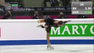 Alina Zagitova SP Grand Prix Final GPF 2019 Алина Загитова Короткая программа Финал Гран При 2019