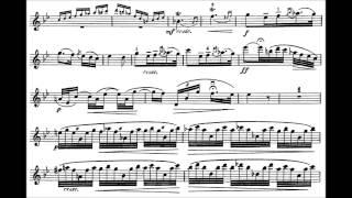 Enna, August violin concerto in D major
