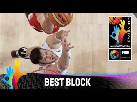 Lithuania v Turkey - Best Block - 2014 FIBA Basketball World Cup