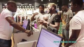 DJ ARAFAT A LA RTI ET APRES FAIS DU SHOPING AVEC PATA PAPARA DE BABI