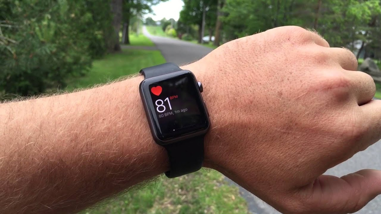 Apple watch and Drone 5k Run
