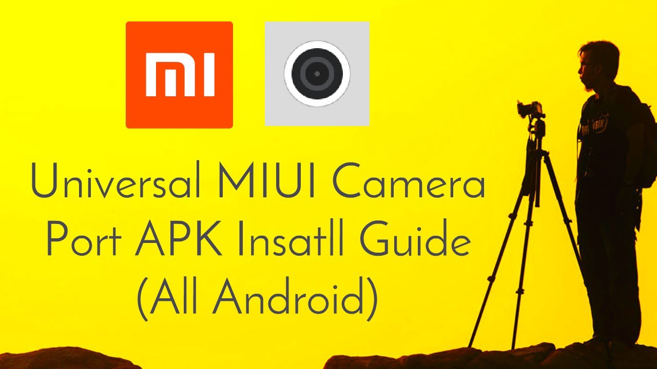 Universal MIUI Camera Port For All Android Phones Install Guide
