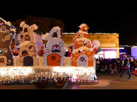 Ennis Parade of Lights 2016