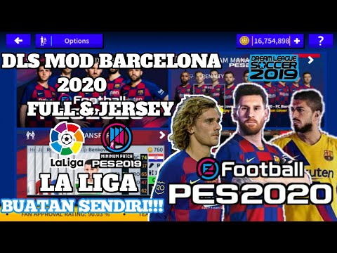 Download Dream League Soccer 2020 Mod Barcelona - 동영상