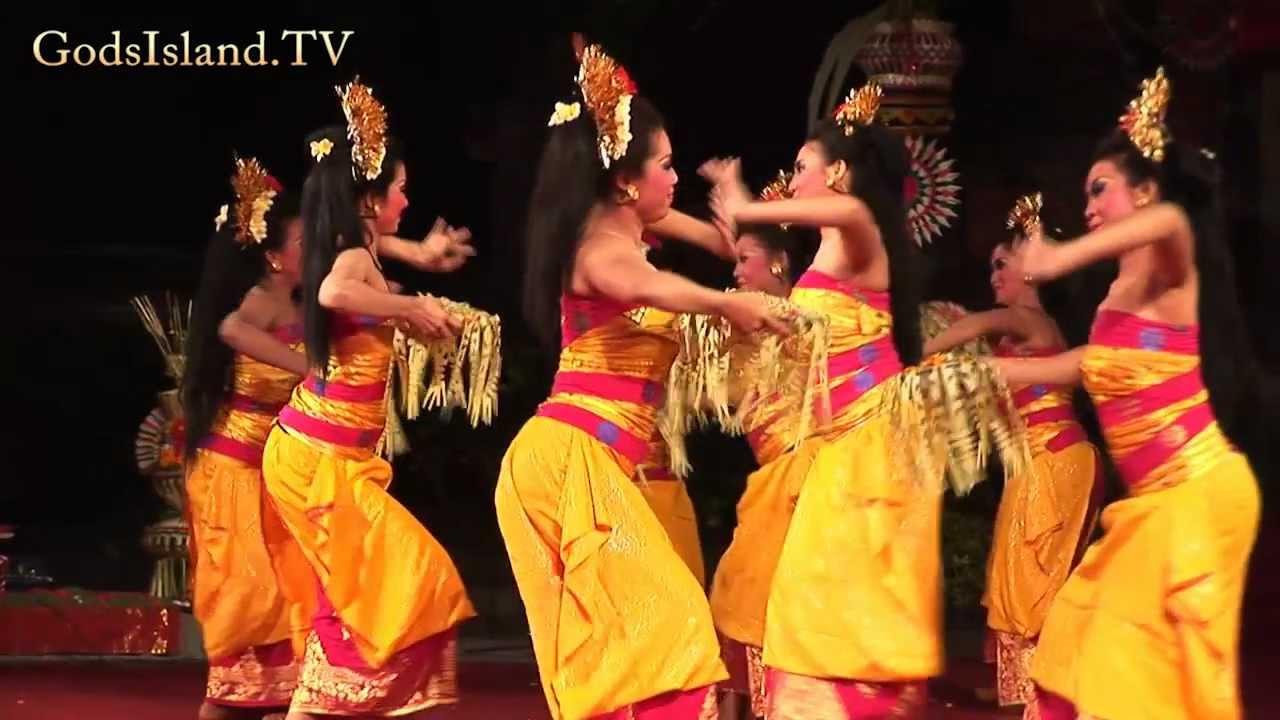 Traditional Balinese Dance Hd Youtube