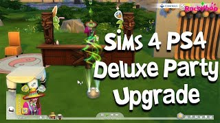 The Sims 4 PS4 Deluxe Party Upgrade - What do you get?