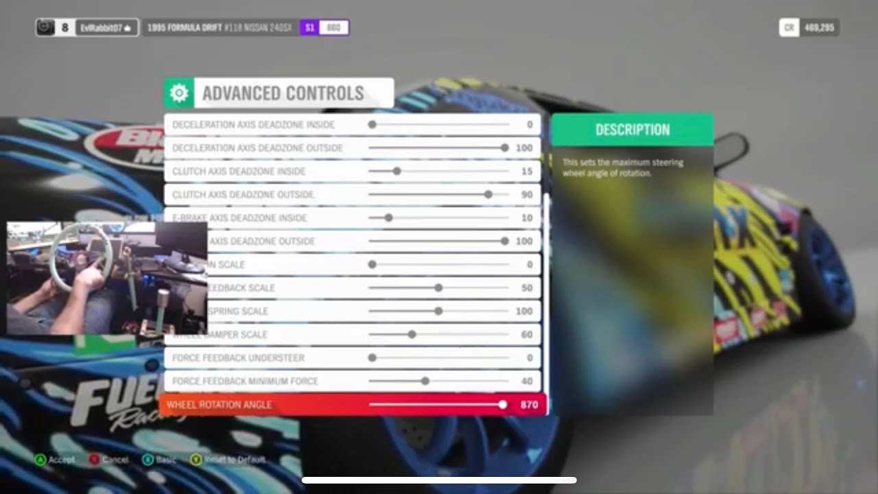horizon 4 full game my logitech g920 wheel settings super wheelspins showcase youtube. Black Bedroom Furniture Sets. Home Design Ideas