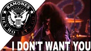RAMONES - I Don't Want You (SUBTITULADA)