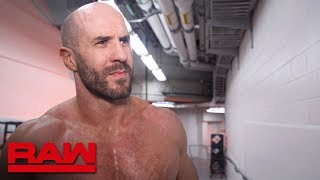 Cesaro wastes no time on Raw: Raw Exclusive, April 22, 2019