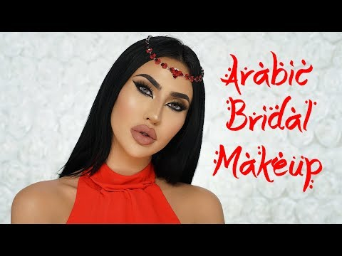 ARABIC BRIDAL MAKEUP TUTORIAL