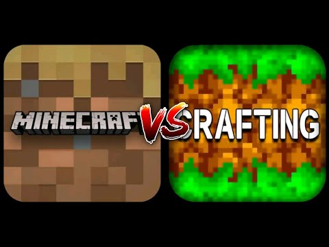 Minecraft Trial vs Crafting and Building
