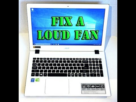 Acer Aspire Loud Fan issue Solved-Cheap Fix Grinding and Rubbing Problem