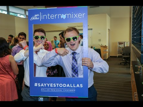 2017 Say Yes To Dallas Intern Mixer Series (Part 1)