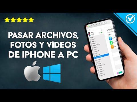 Cómo Pasar Archivos, Fotos y Vídeos de iPad, iPhone e iPod a la PC con o sin iTunes